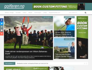 golferen.no screenshot