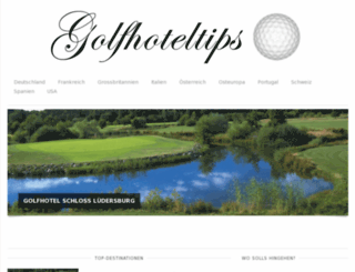 golfhoteltips.com screenshot