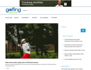 golfingindian.com screenshot