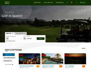 golfinspain.com screenshot