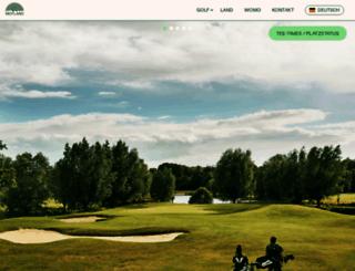 golfinternationalmoyland.de screenshot