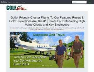 golfjets.com screenshot