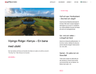 golfjournalen.se screenshot