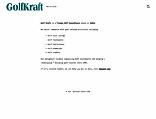 golfkraft.com screenshot