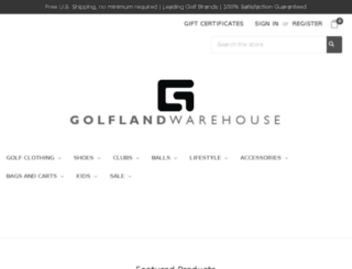 golflandwarehouse.com screenshot