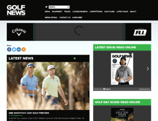 golfnews.co.uk screenshot