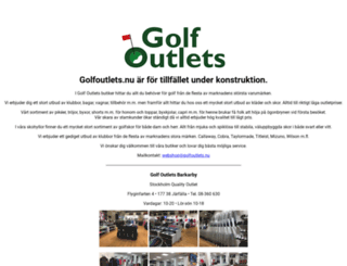 golfoutlets.nu screenshot