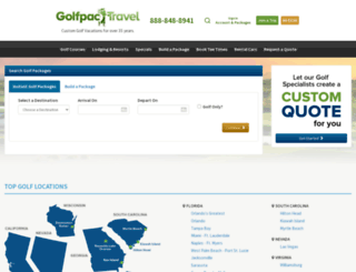 golfpactravel.com screenshot