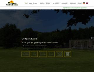 golfparkexloo.nl screenshot