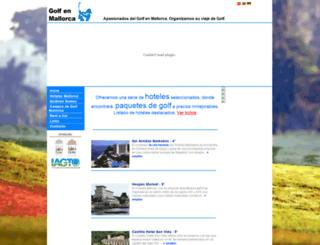 golfplatze-hotel.golfenmallorca.com screenshot