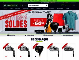 golfplus.fr screenshot