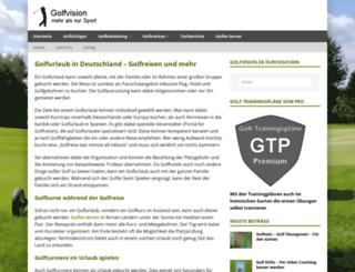 golfreisenportal.de screenshot