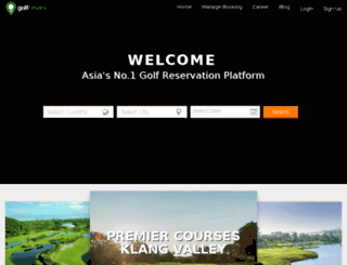 golfreserv.com screenshot