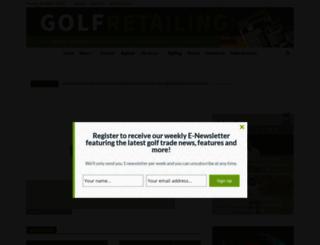 golfretailing.com screenshot