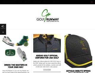 golfrunway.com screenshot