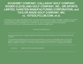 golfsaletime.com screenshot