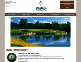 golfsaratoga.com screenshot