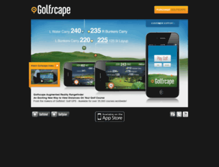 golfscapeapp.com screenshot
