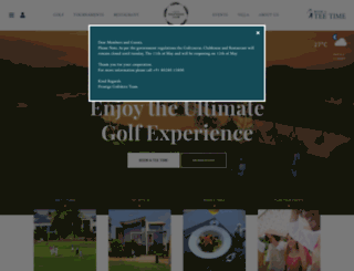 golfshire.com screenshot
