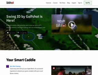 golfshot.com screenshot
