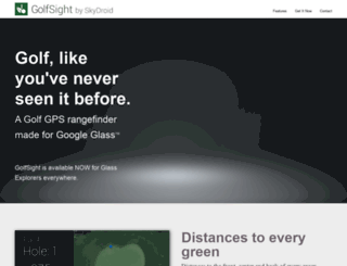 golfsight.skydroid.net screenshot