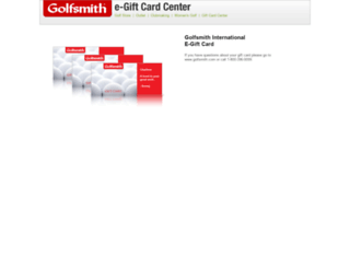 golfsmith.cashstar.com screenshot