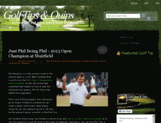 golftipsandquips.blogspot.com screenshot