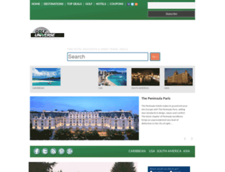 golfuniverse.com screenshot