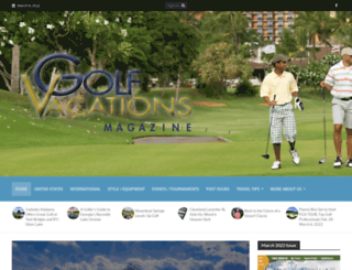 golfvacationsmag.com screenshot