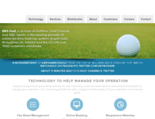 golfweb1.brsgolf.com screenshot