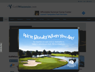 golfwisconsin.com screenshot
