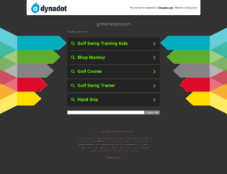golfwristaid.com screenshot