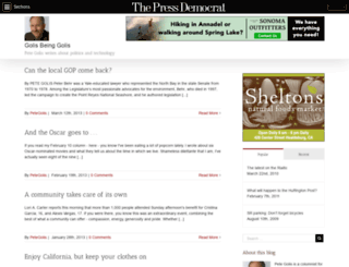 golis.blogs.pressdemocrat.com screenshot