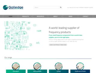 golledge.com screenshot