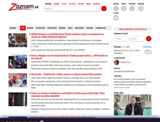 golo.blog.zoznam.sk screenshot