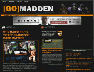 gomadden.com screenshot