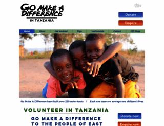 gomakeadifference.co.uk screenshot