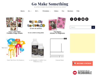 gomakesomething.com screenshot
