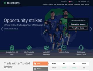 gomarkets.eu screenshot