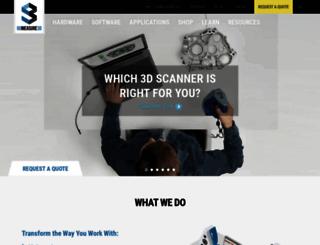 gomeasure3d.com screenshot