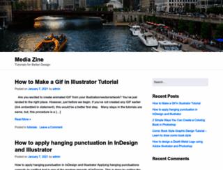 gomediazine.com screenshot