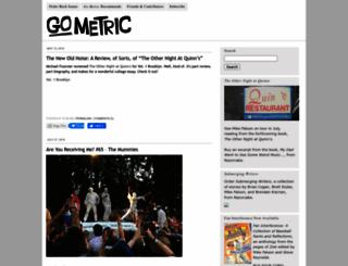 gometric.typepad.com screenshot