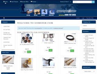 gomeyer.com screenshot