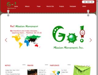 gomission4u.org screenshot