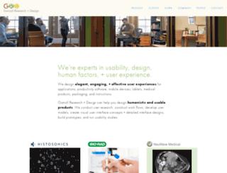 gomolldesign.com screenshot