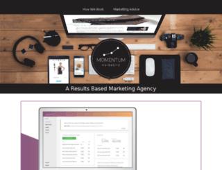 gomomentum.marketing screenshot