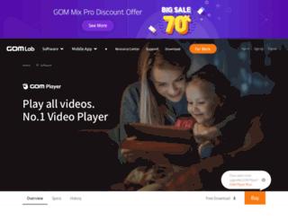 gomplayer.cn screenshot