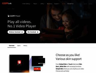gomplayer.com screenshot