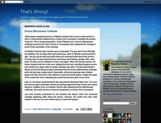 gondals.blogspot.com screenshot