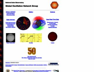 gong2.nso.edu screenshot